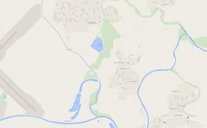 mapa zálesie